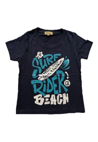 KAMDAR blue Boys Short Sleeve  T/shirt B93B5KA179D05EGS_1