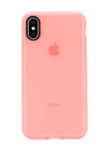 Incase pink Incase INPH190381-CAL Protective Lattice Cover for iPhone X - Coral F298BAC752F0C4GS_1