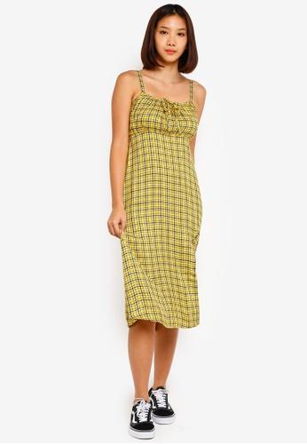 427858966719 Shop Hollister Babydoll Midi Dress Online on ZALORA Philippines