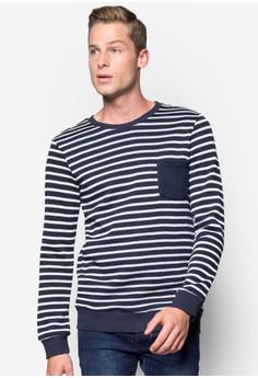 Printed Sweatshirt with Pocket Details
