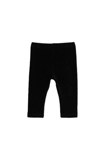 KOTON black Co-Ord Leggings 26A22KAD60E897GS_1