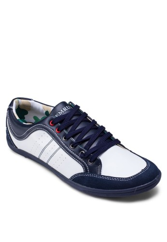 雙色繫帶休閒鞋,esprit 兼職 鞋, 休閒鞋