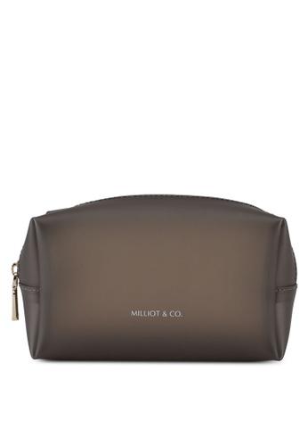 Milliot & Co. black Thelma Pouch Bag EFCFEACA98D433GS_1