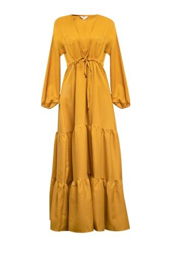 Covering Story yellow Puspita Dress A 49CC5AAF8117A1GS_1