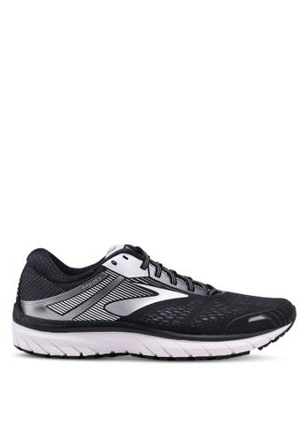 Brooks black Adrenaline GTS 18 Shoes 13CCDSH399BD94GS_1