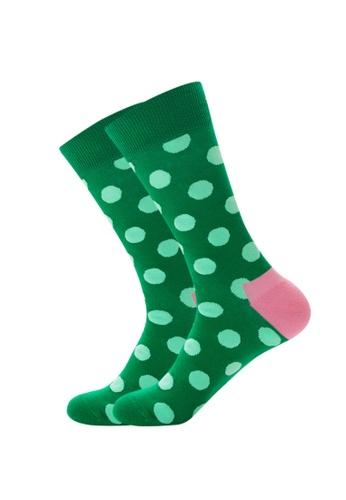 Kings Collection green Green Dots Cozy Socks EU39-EU45) 46E56AA466BA34GS_1