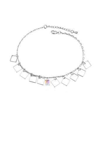 Urban Outlier silver Crystal Bracelet B1121316 2EEACAC3E51FE1GS_1