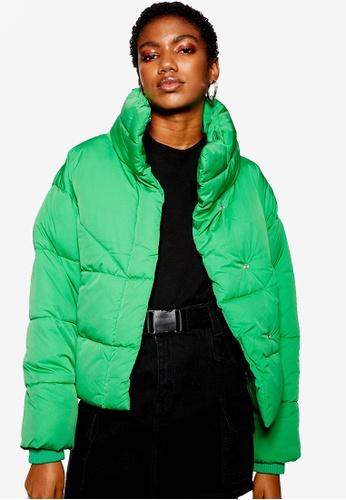 Buy TOPSHOP Petite Wrap Puffer Jacket Online on ZALORA Singapore 7715025c8