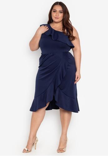Shop Ashley Collection Plus Plus Size Bridesmaid Dress Online on ...