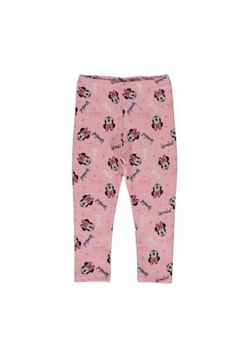 LC Waikiki pink Baby Girl Minnie Mouse Printed Long Tights 21BB9KA25FE4D9GS_1