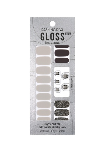 Dashing Diva black Dashing Diva Gloss Gel Strip Manicure Dark Star /Nail Sticker /Nail Wraps 21F8ABED20B4DEGS_1