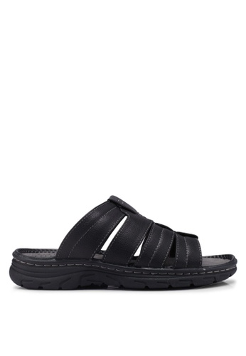 Bata black Slide-On Sandals BDCABSH36D4CA6GS_1