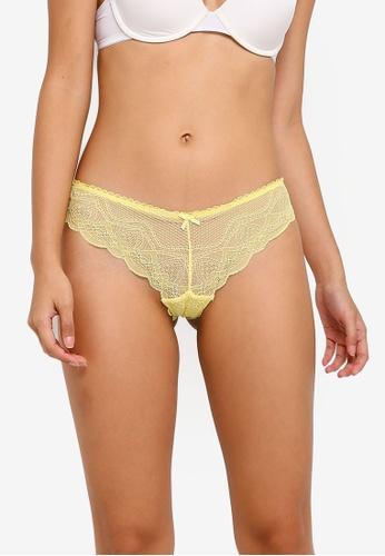 Cotton On Body yellow Cindy Brasiliano Briefs C2DD4US33120C3GS_1