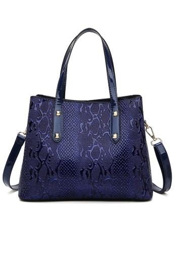 Twenty Eight Shoes Stylish Faux Leather Tote Bag DP6093 4C973AC6CE664BGS_1