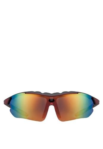Marcus 運動太陽眼鏡尖沙咀 esprit outlet, 飾品配件, 長框