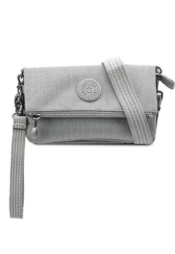 Kipling grey Lynne Crossbody Bag 568BEAC9390A1AGS_1