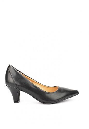 Cardam's Lifestyle black CLS 95657 Black Heel Pumps F2D0BSHFB2337AGS_1