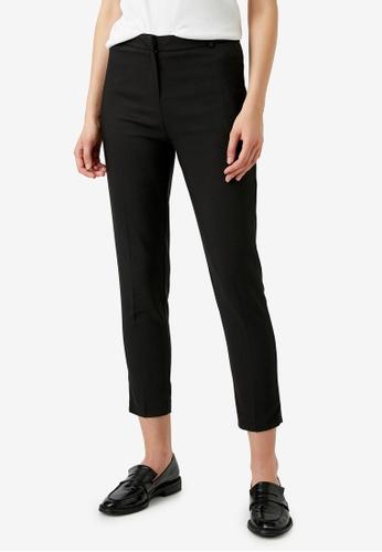 KOTON black Casual Trousers A1C7EAAF49E47DGS_1