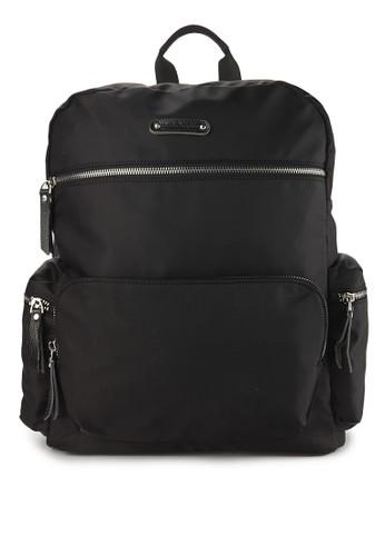 Hush Puppies black Nemo Backpack (M) 5D591AC0C30B26GS 1 d17cb597ce
