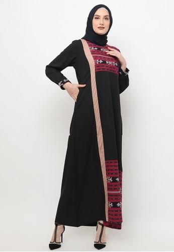 Karina Design black Farisa Gamis Tenun 82AE9AAA33293BGS_1