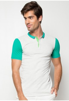 John Polo Tee With Color Combo