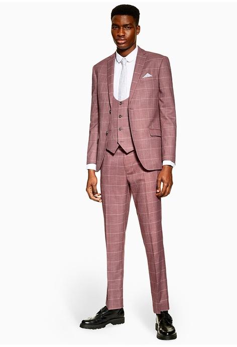 Suits & Suit Separates 38l We Have Won Praise From Customers Ralph Lauren Men's Suit Black White Pinstripes Sz