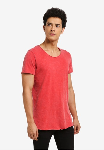 Jack & Jones red Casual T-Shirt 911E5AA3BFF26CGS_1