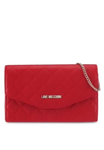 Love Moschino red LOVE MOSCHINO Bag LO478AC0SXX3MY_1
