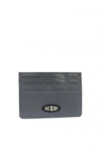Big Skinny Wallets grey Nylon Mini Skinny Wallet 02E8EAC71B6EFAGS_1