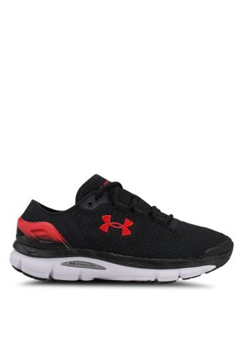 Under Armour black UA Speedform Intake 2 Shoes UN337SH0SU9FMY_1