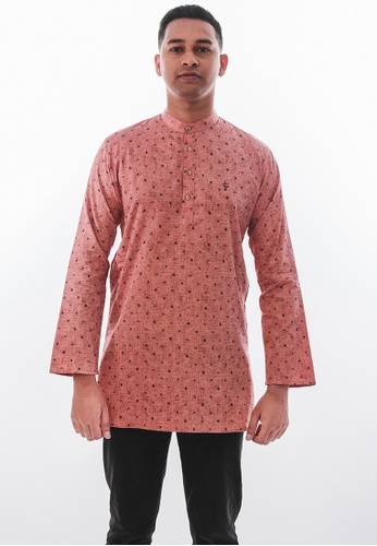 Achaboy orange Achaboy Kurta - Egypt Cotton - Orange B31D8AA158BA5CGS_1