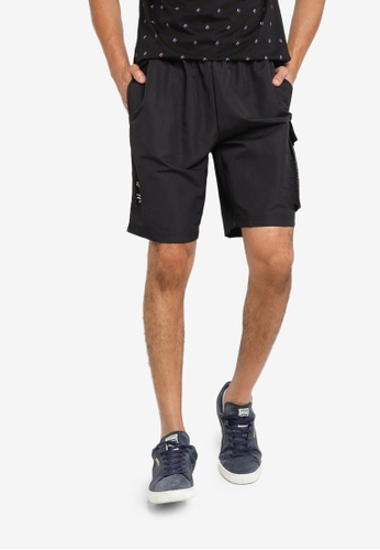 Puma black Avenir Men's Cargo Shorts B0EB0AA58B4510GS_1