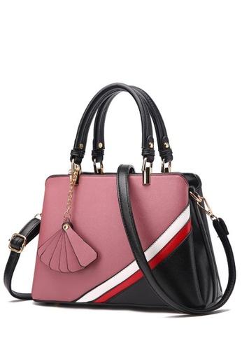ab4348ce532 TCWK pink TCWK Korea Style Dark Pink Ladies Handbag TC258AC0SKYKMY 1