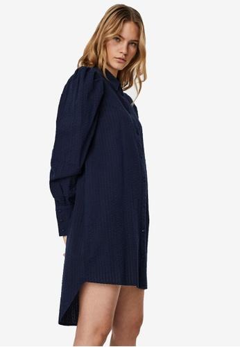 Vero Moda blue Naja Shirt Dress E4EB6AA06E8216GS_1