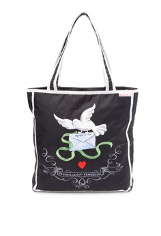 Olympia Tote in Love Letters