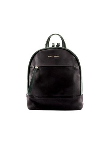 Samuel Ashley black Samuel Ashley Stella Full Grain Cowhide Leather Backpack - Black / Pine 10143AC3EF5209GS_1
