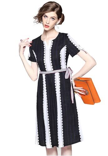 Sunnydaysweety black Collectibles new Slim one piece Dress A20050801BK CE297AA7D061ADGS_1