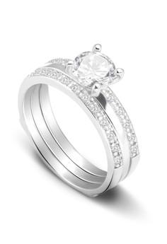 Kynda Diamond K2775 Italy 925 Silver Ring
