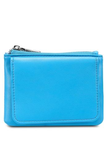 nose blue Plain Mini Wallet 5B22EAC94AEABDGS_1