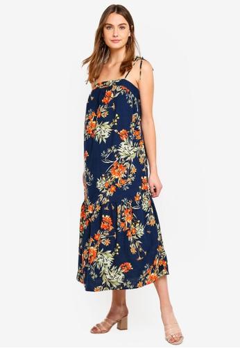 Cotton On black Woven Arabella Tie Shoulder Maxi Dress 409F9AAA790888GS_1