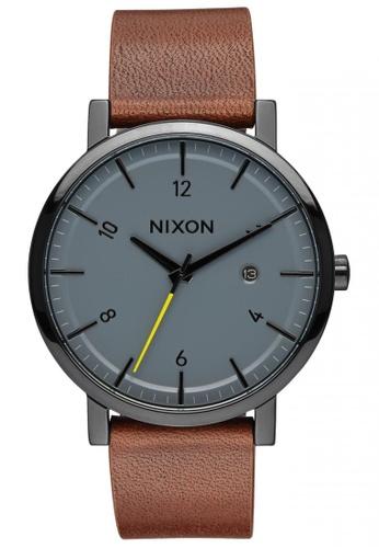Nixon black and grey Nixon - Rollo - Black/Charcoal NI855AC81SXASG_1