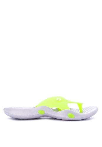 Krooberg green Viper Slip-On Sandals 6ACB4SH7A5F533GS_1