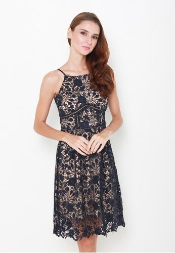 Leline Style blue Ettah Lace Dress LE802AA71IPWSG_1