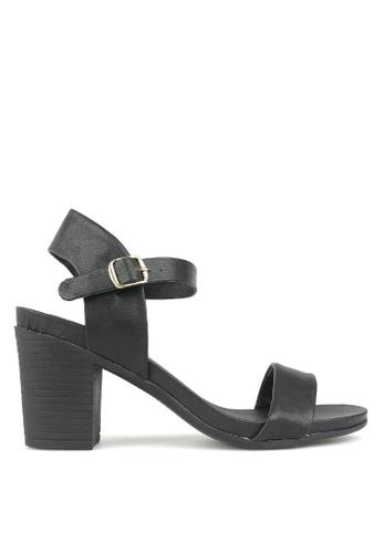 Betts black Jealous Single Sole Sandals 75868SHF9030EDGS_1
