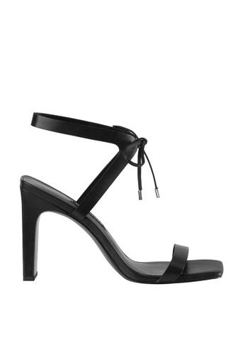 Nine West black NWLONGITANO Open Toe Sandals B6634SH5098DF4GS_1