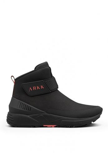ARKK Copenhagen black Pythron Mesh 2.0 E15 Male Sneakers 64CE2SH1916130GS_1
