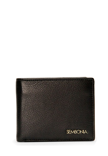 SEMBONIA black SEMBONIA Men Leather Wallet (Black) 337A4AC7EAC12DGS_1