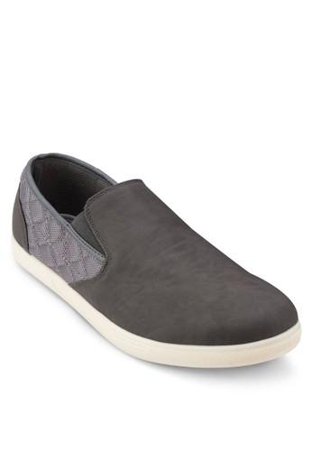 FREDERIC 異材質拼接懶人salon esprit 香港鞋, 鞋, 懶人鞋