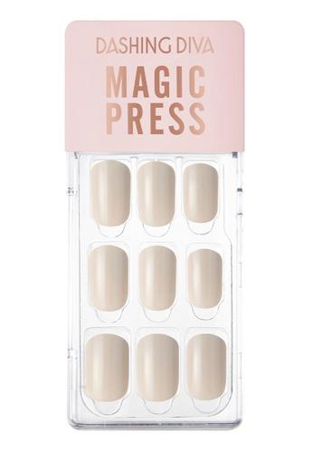 Dashing Diva beige Dashing Diva 1 SEC. MAGIC PRESS Manicure Warm Sand / Press on Nails /Nail Tips CCAC1BEA577024GS_1