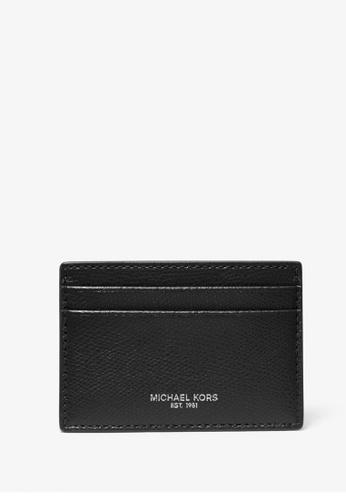 Michael Kors black Michael Kors Andy Leather Card Case - Black 2C681ACB1172A6GS_1
